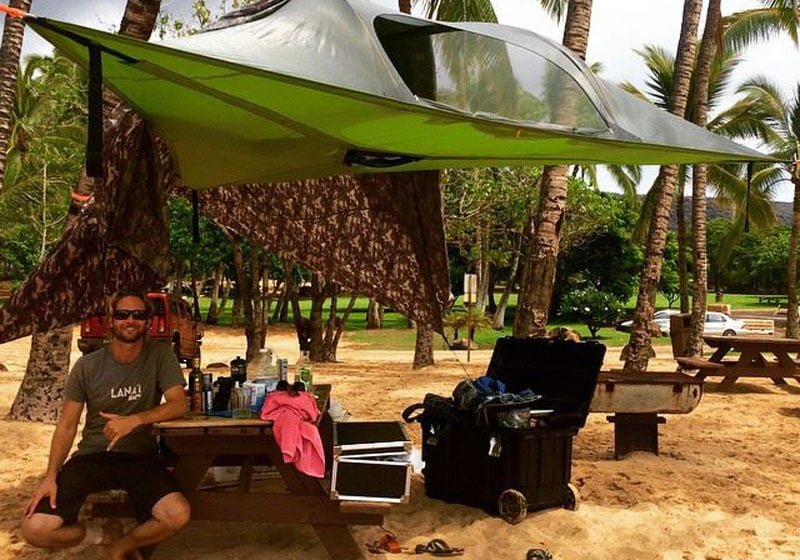 Camping Experience in Maui HI