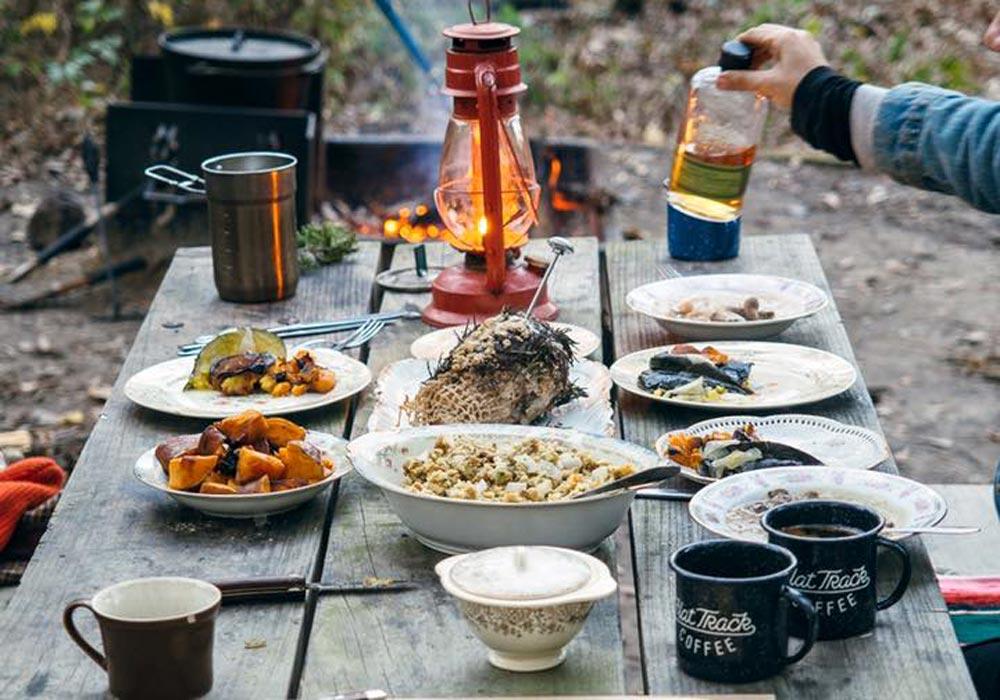 Camp Food in Maui HI